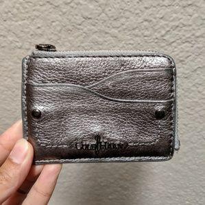 Gunmetal Gray Cole Haan Card Wallet